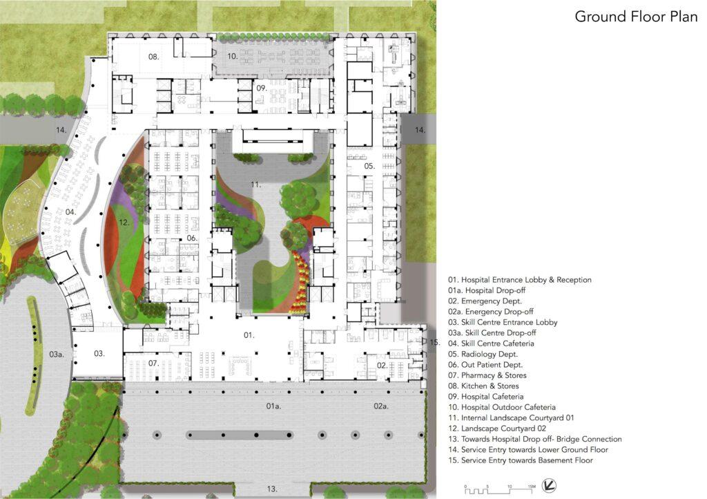 symbiosis university hospital floor plan