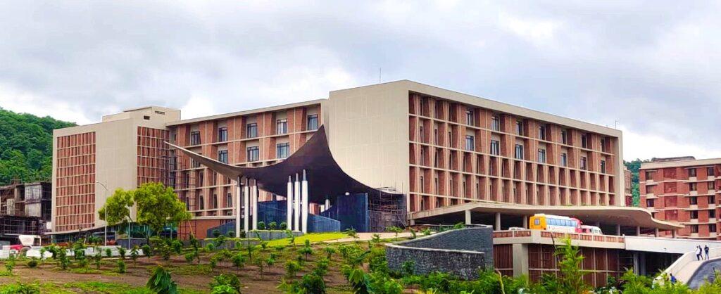 symbiosis university hospital arch india